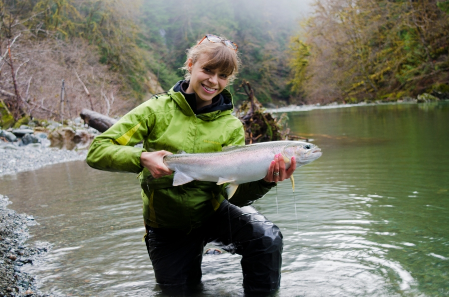 Kitty's third river of the year produced multiple, beautiful fish